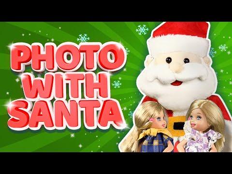 Barbie - The Christmas Photo with Santa