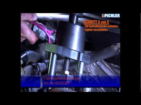 Coffret en 30 pièces pour extraction injecteurs PSA moteur 2,0 - 16V 60383305