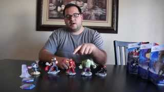 Disney Infinity 2.0 Venom, Groot, and Hiro UNBOXING
