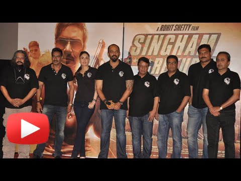 Singham Returns Trailer Launch - Ajay Devgan Kareena Kapoor...
