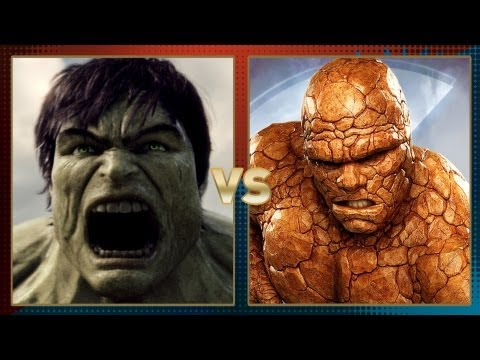 Hulk vs. Thing: Fanboy Faceoff