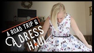 A Grace Karin Vintage Dress Haul & a Solo Road Trip!