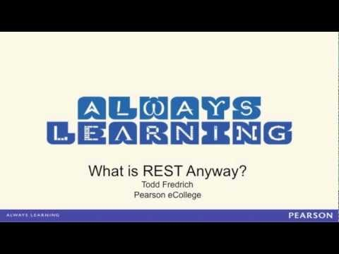 Intro to REST (aka. What Is REST Anyway?)