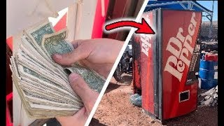 FOUND MONEY IN ABANDONED VENDING MACHINE | JOYSTICK