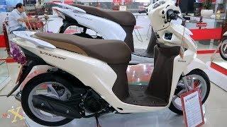 Honda VISION 110i 2019 - Phiên Bản Cao Cấp  Smartkey - Vàng Nâu - Walkaround