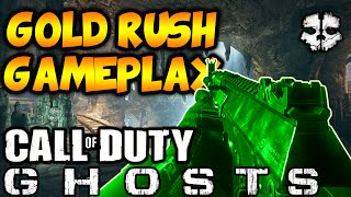 COD Ghosts: GOLD RUSH Gameplay! - New Nemesis DLC (Call of Duty Ghosts Multiplayer Gameplay)