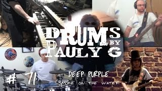 Deep Purple - Smoke On The Water [Full Band Collaboration Cover] by Paul Gherlani