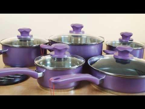 Обзор посуды SUPRA серии VASEI. Набор посуды SVS-1197Kit