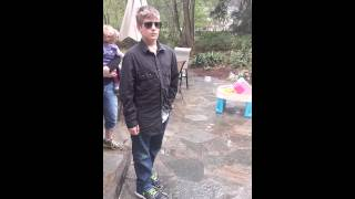 Colorblind 10 yr old sees colors for the 1st time!