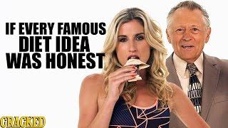 If Every Famous Diet Idea Was Honest - Honest Ads