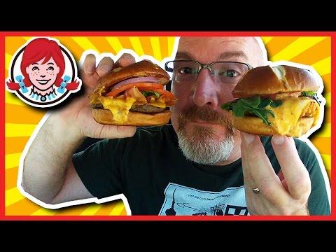 Wendy's Pretzel Bacon Vs. Pretzel Pub Chicken Review