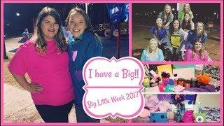 I have a Big!! 💜   Big Little Week 2017!