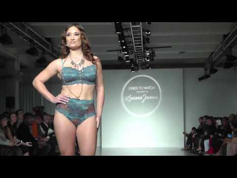 Tia Lyn at Lingerie Fashion Week