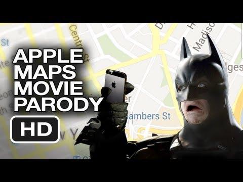 The Dark Knight y los problemas con los nuevos mapas de Apple