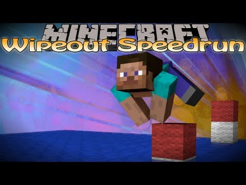 Minecraft Wipeout Zone Speedrun - 0:43 Record by Setosorcerer