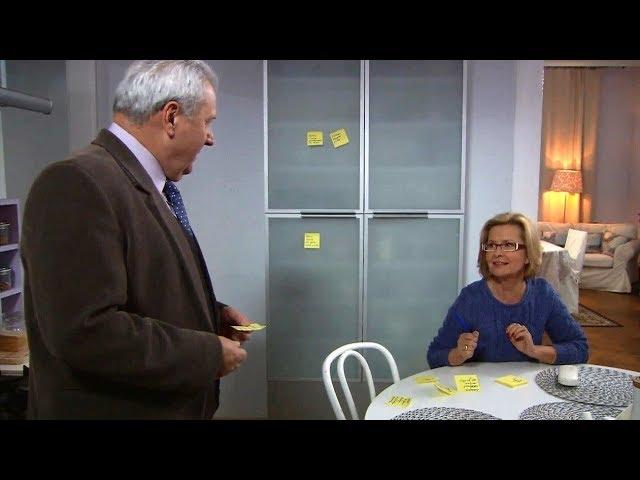 """""""Klan"""" –  Żółte karteczki dla Jerzego – scena z odc. 3203"""