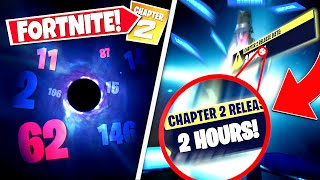 *NEW* FORTNITE BLACK HOLE *SECRET MESSAGE* THAT EVERYONE MISSED! CHAPTER 2 ACTUAL START DATE & LEAKS