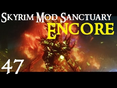 Skyrim Mod Sanctuary 47 ENCORE : aMidianBorn Book of Silence