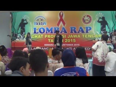 Lomba RAP BKKBN Jawa Tengah 31 Oktober 2015, no name