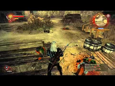 The Witcher 2 Tutorial - Advanced Combat Techniques - Magic Signs and Traps [HD 720p]