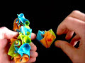 2 - How To Make An Origami Cuboctahedron From Curler Units