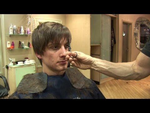 Men's Hairstyle For Medium Hair. How To Cut Hair In Layers ✂ Short Choppy Haircut Tutorial