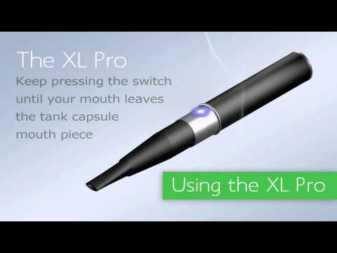 Intellicig XL Pro Series  - available from Ecigarettes - Instructions and Use