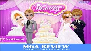 Jogo para crianças - Coco Wedding gamePlay - Casamento jogos