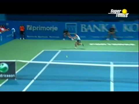 sara errani best shots - vs Safina