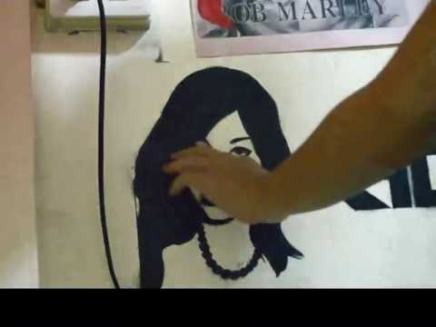 Saori Hara Stencil [by.kho] video