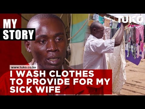 I wash clothes to provide for my wife: Gideon Weru | Tuko TV