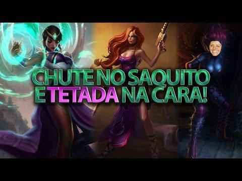 Lol Ninja - Chute No Saquito E Tetada Na Cara! video