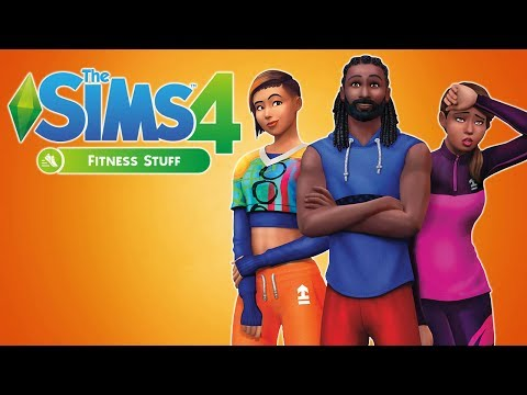 The Sims 4: Fitness Stuff | FIRST LOOK LIVESTREAM |