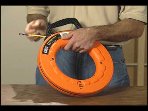 Klein Tools Nylon Fish Tape Youtube