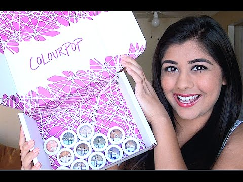 Colourpop Fall 2014 Collection: Swatches & Tutorial!