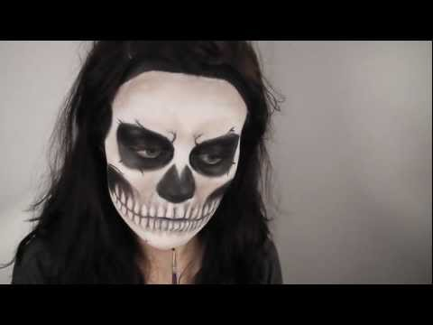Lady Gaga  Born This Way  Music Video / Rick Genest Inspired Makeup Tutorial