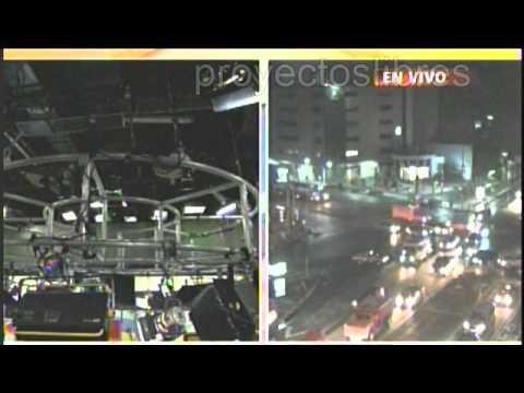 Temblor en México y Chiapas En Vivo 6.9 Grados - Lunes 7 de Julio 2014