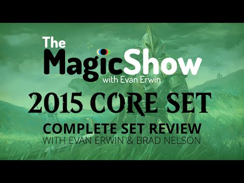 Magic the Gathering Core Set 2015 Complete Set Review - Green