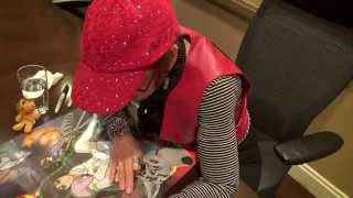 Anime Boston 2015 - Getting Mona Marshall's Autograph