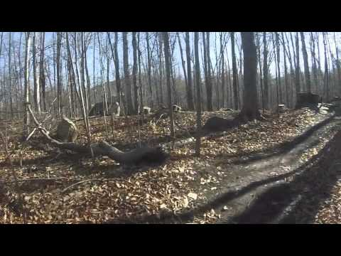 Pisgah Mountain Bike Trails Saranac Lake NY