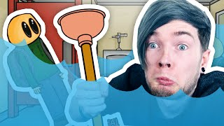 FLOODING THE SCHOOL TOILET!! | Riddle School 3