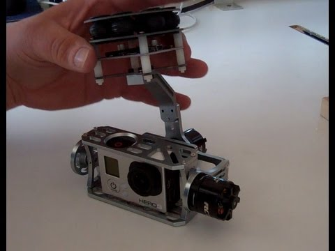 OPENBOX / REVIEW RCTimer 2-axis brushless gimbal