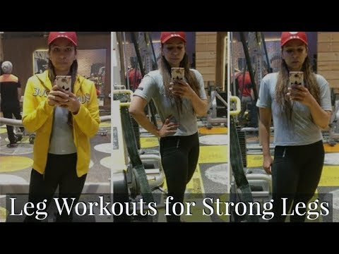Complete Leg Workout for Strong Legs & Loose Skin | My Food My Lifestyle VLog | Fat to Fab Exercises