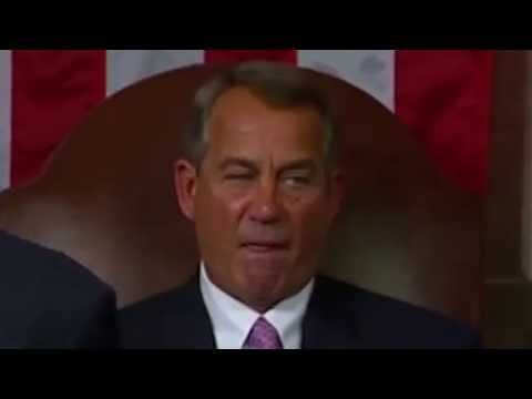 The Best of John Boehner's Microexpressions: State of the Union 2015