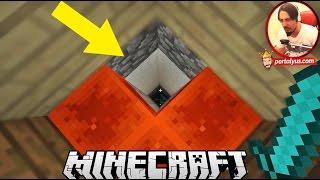 EN BÜYÜK ÇUKUR ! Minecraft Türkçe Gizemli Dağ | Bölüm 5