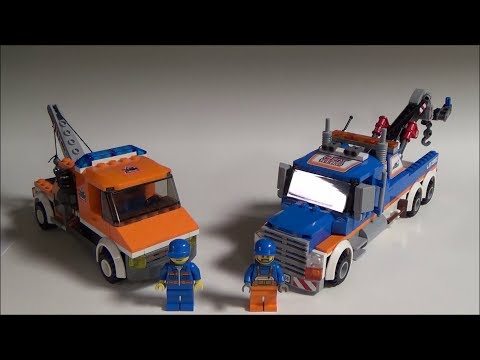 Lego City Tow Truck Comparison Review