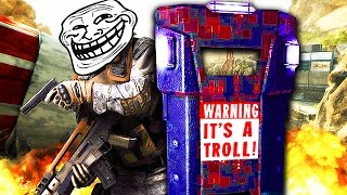 CRAZY ASSAULT SHIELD TROLLING on CALL OF DUTY! (Black Ops 2 Trolling)