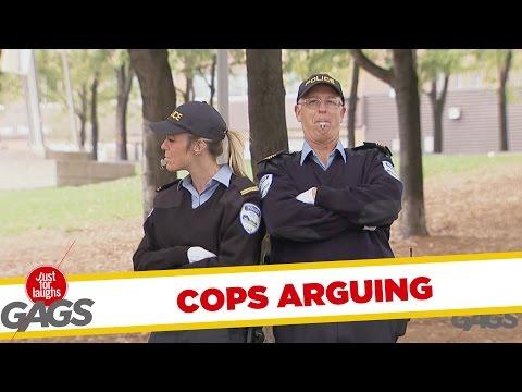 Cops Won't Stop Arguing