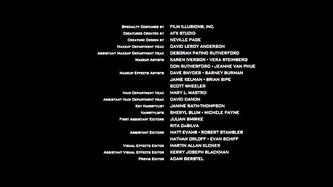 End credits maker online