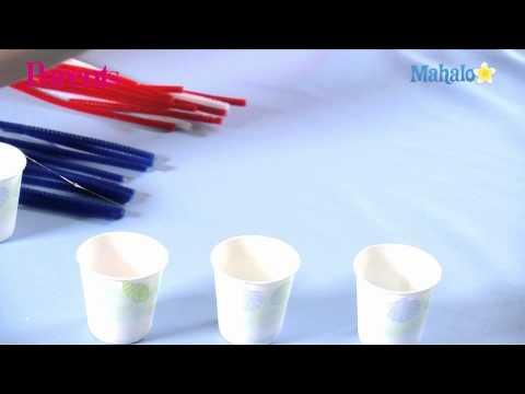 Firework Craft Ideas Kids on How To Make A Pipe Cleaner Firework